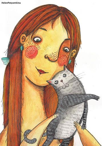 """Открытка """"Cat Stories 3"""""""