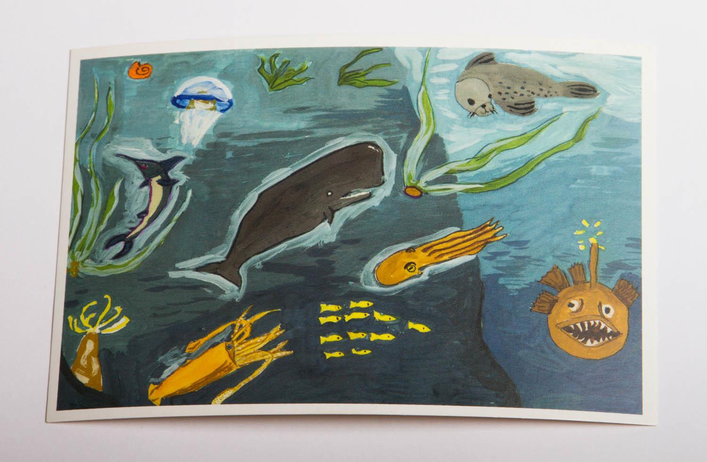 "Открытка ""Under the sea"""