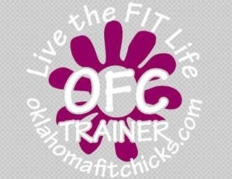 Oklahoma TRAINER Fit Chicks Car Decal