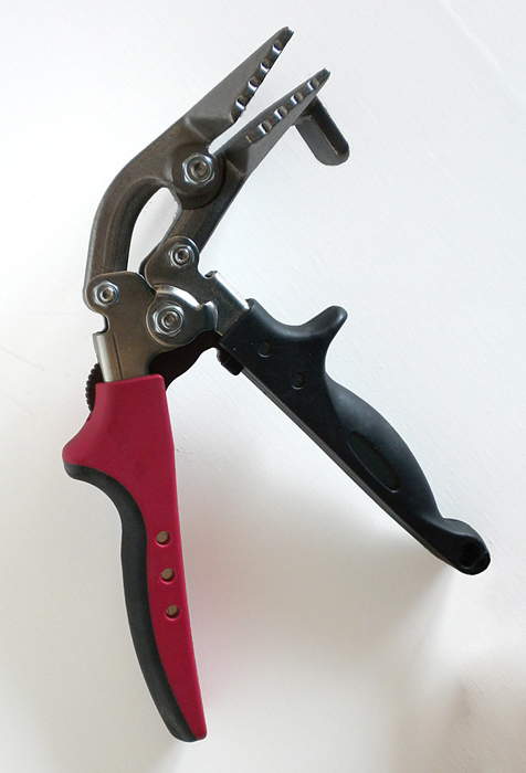 Three Inch Side Tack Canvas Pliers