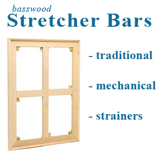 96x96 Stretcher or Strainer ASSEMBLED or STRETCHED