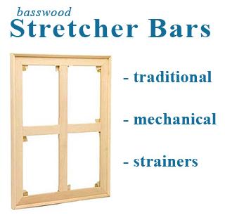 60x60 Stretcher UN-ASSEMBLED kit