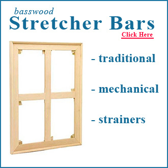 48x48 UN-ASSEMBLED Stretcher (kit)