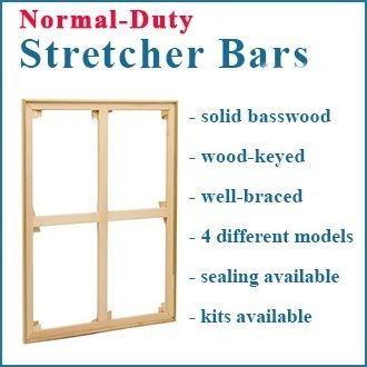 20x20 Normal Duty Wood Keyed Stretcher