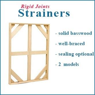 8X10 Stretcher or Strainer