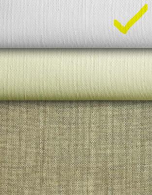 L22U: Artfix linen art fabric, 2 coats universal priming- 42