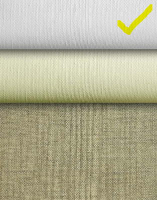 L22U: Artfix linen art fabric, 2 coats universal priming- 5.5 yard roll