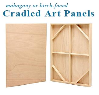 30x30 Traditional Art Panel
