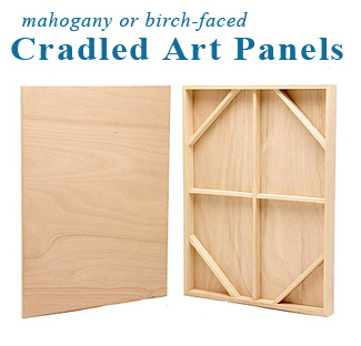 24x24 Traditional Art Panel