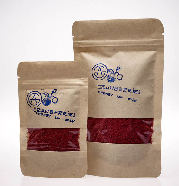 Dzērveņu ogu pulveris - Cranberries powder