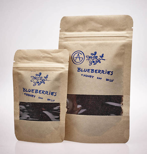Melleņu ogu pulveris - Blueberries powder