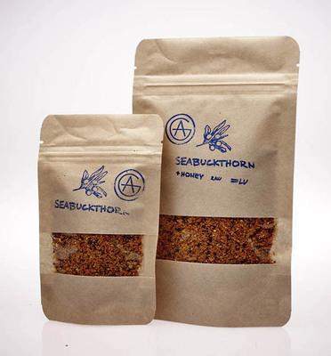 Smiltsērkšķu ogu pulveris - Sea buckthorn powder
