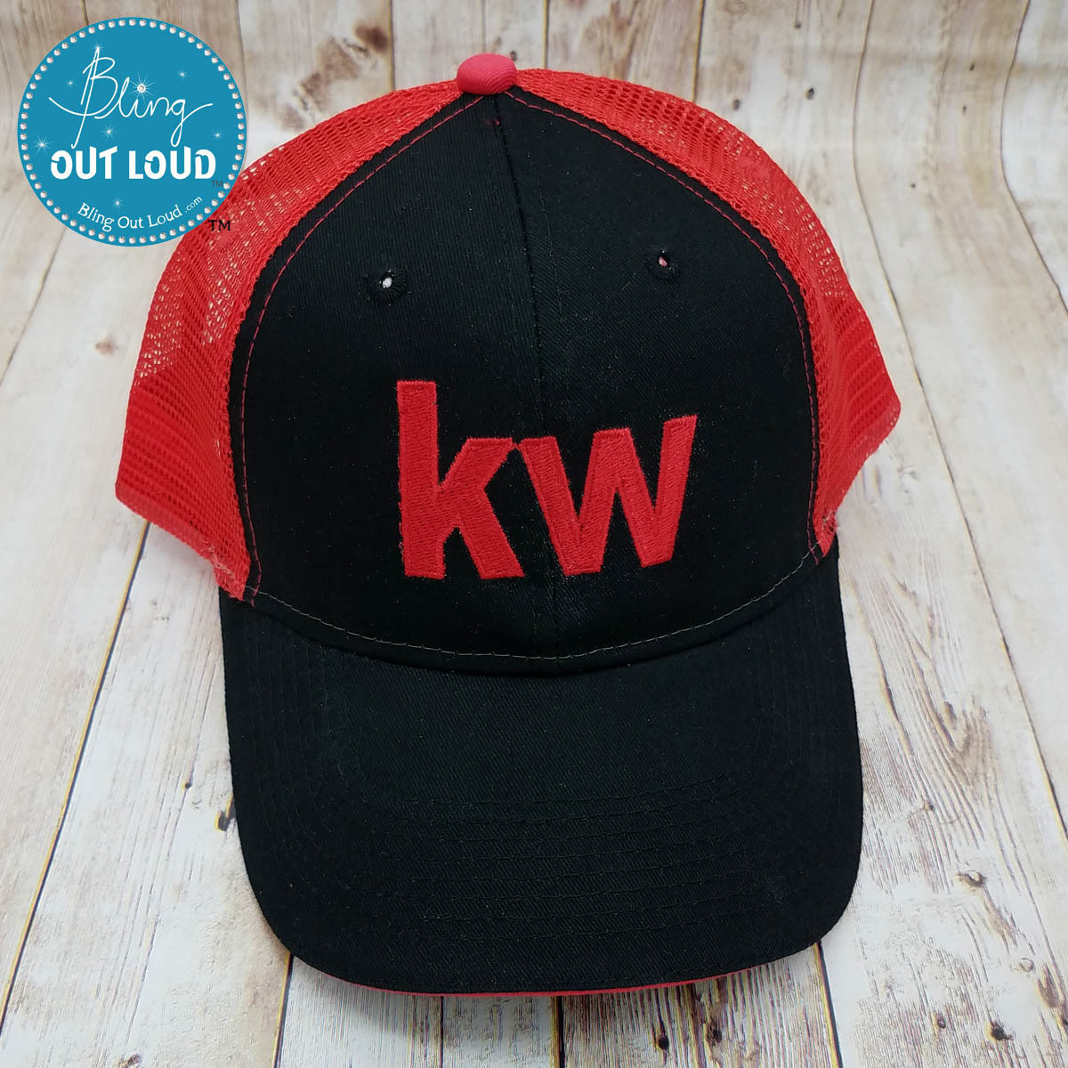 Keller Williams Realty Embroidered Trucker Cap Hat for Realtors