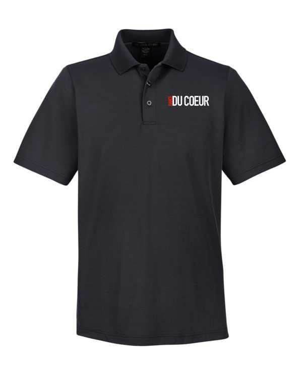 """Dance Du Coeur """"Dance Turned"""" Logo Embroidered Polo"""