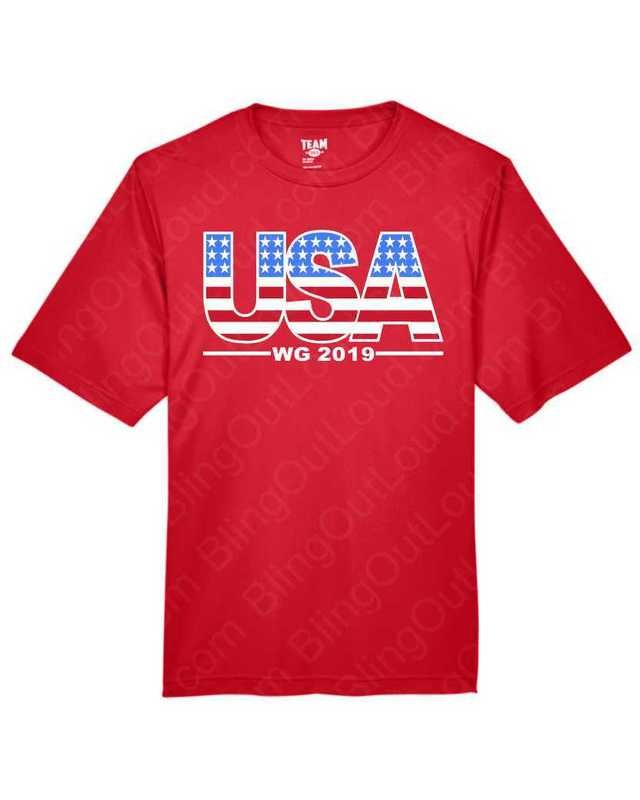 Showcase Gymnastics USA WG 2019 Event Tee