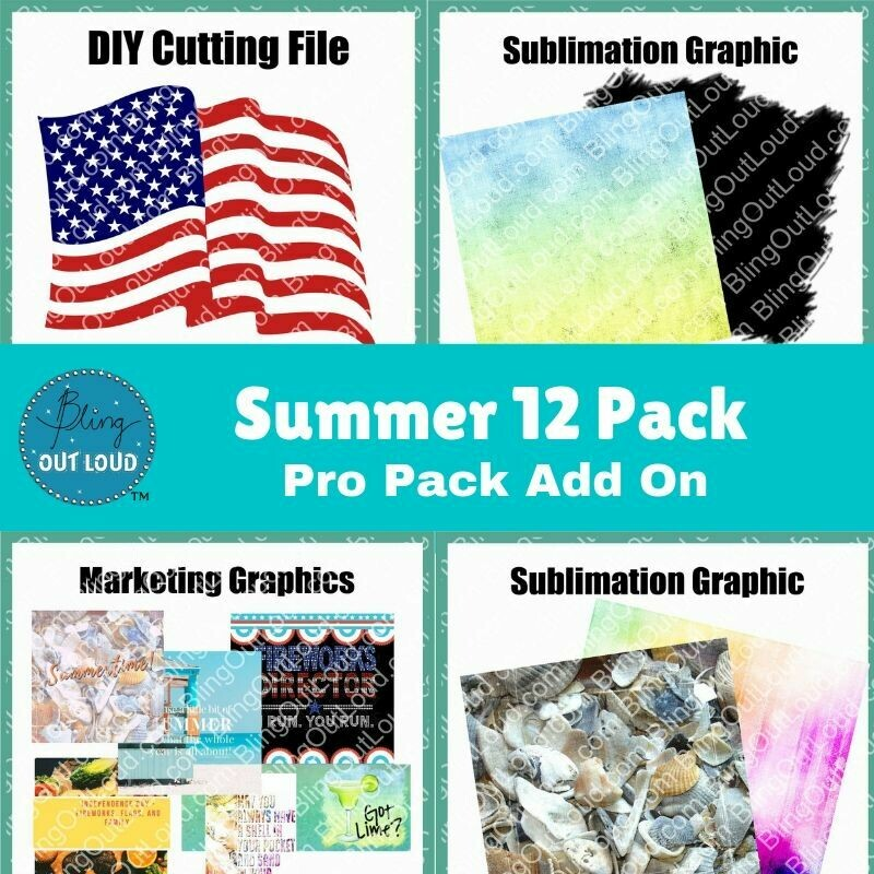 Summer 12 Pack Pro Add On - Resources