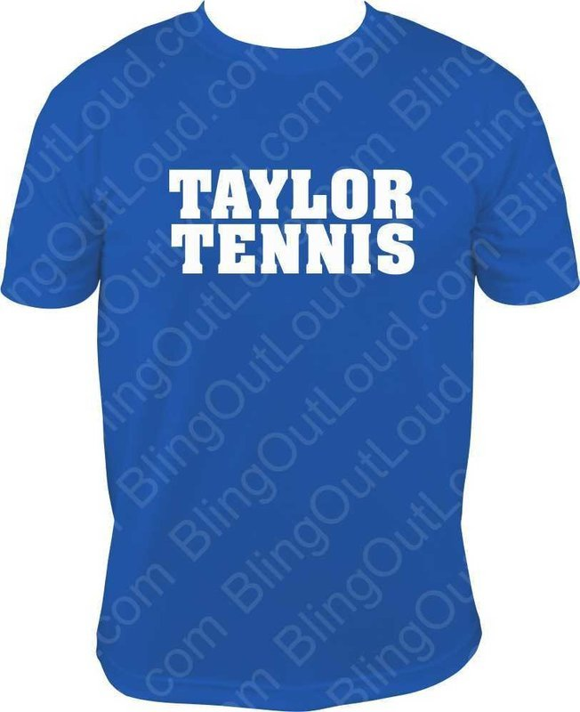 Taylor Tennis 2018 Fan Shirt Blue