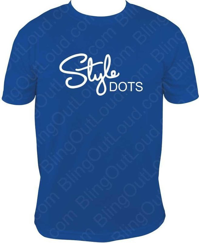 Style Dots Logo Unisex Printed T-shirt