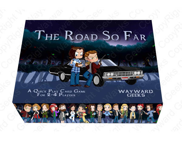 The Road So Far Card Game And Expansion (+ Bonus) RSF_base+exp+promo