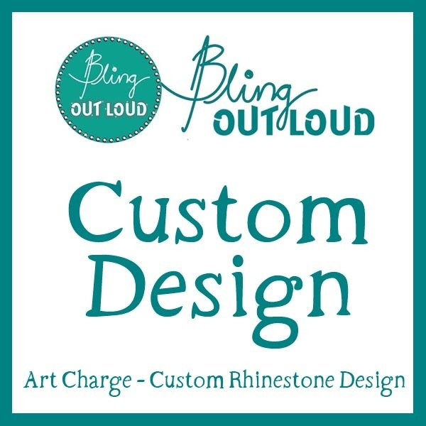 Custom Rhinestone  Design Fee CustomDesignFee