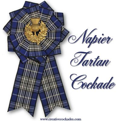 Napier Tartan Cockade