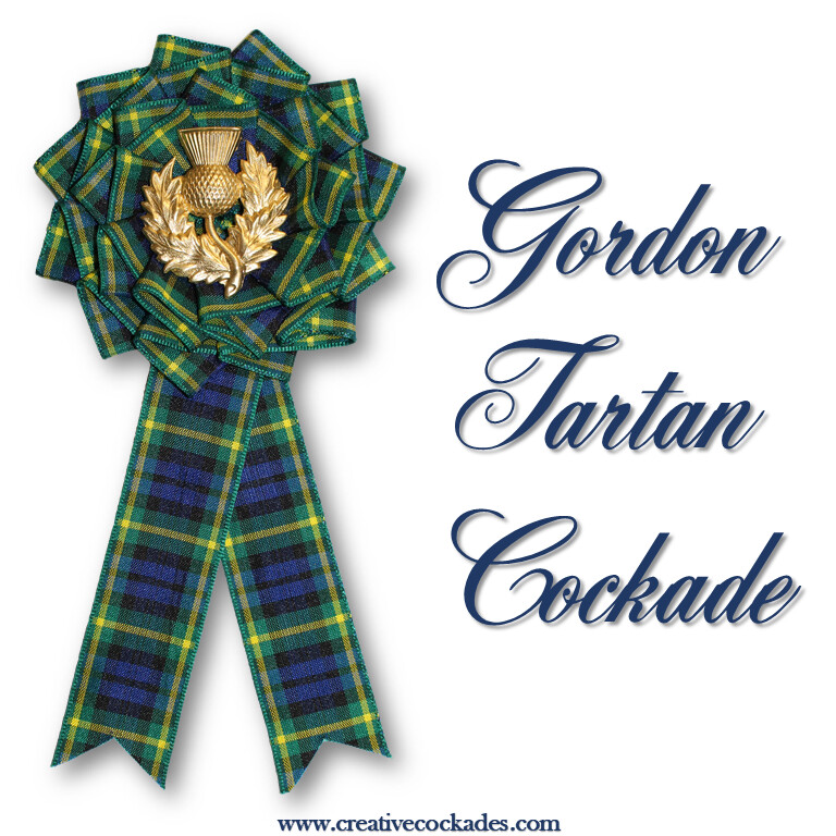 Gordon Tartan Cockade