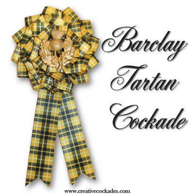 Barclay Tartan Cockade