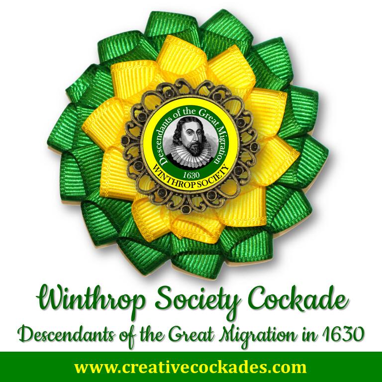 Winthrop Society Cockade