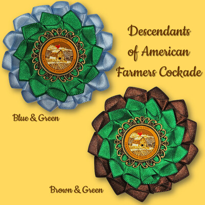 Descendants of American Farmers Cockade