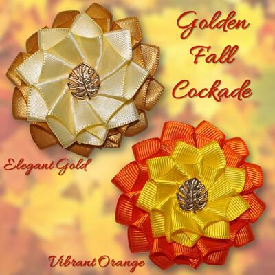 Golden Fall Cockade