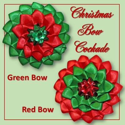 Christmas Bow Cockade