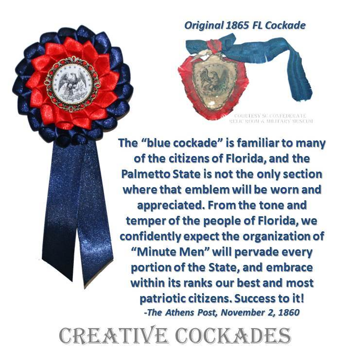Florida Secession Cockade