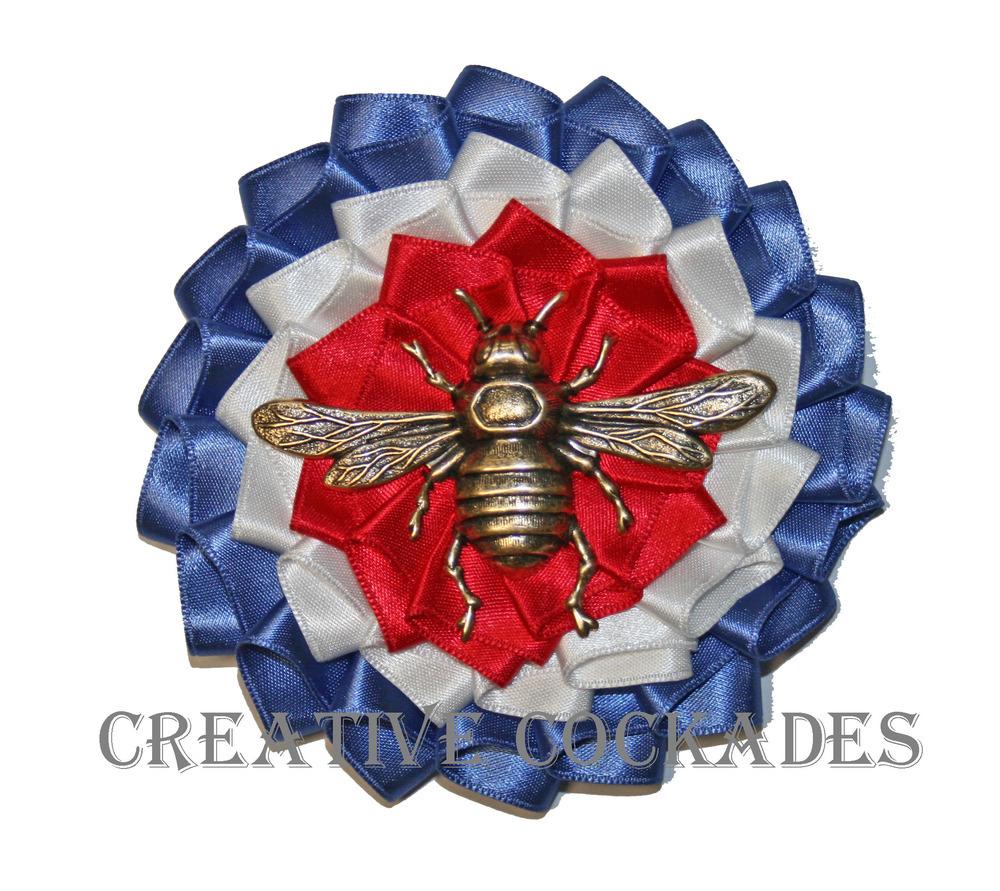 """Buy American"" Bee Historic Pin"
