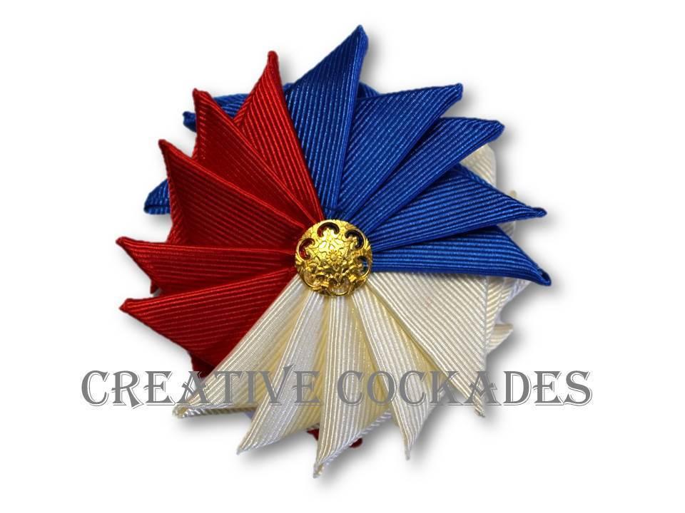 Monroe Tricolor Cockade