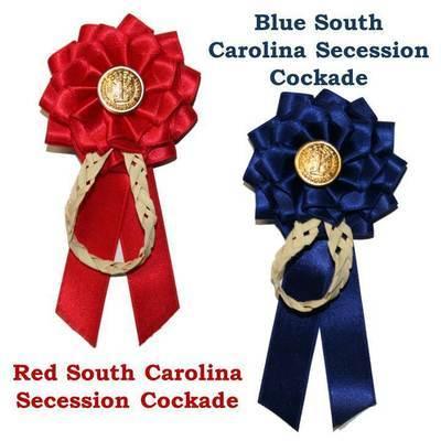 South Carolina Palmetto Secession Cockade
