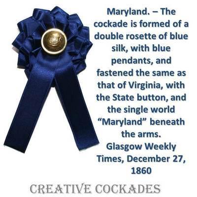 Maryland Secession Cockade
