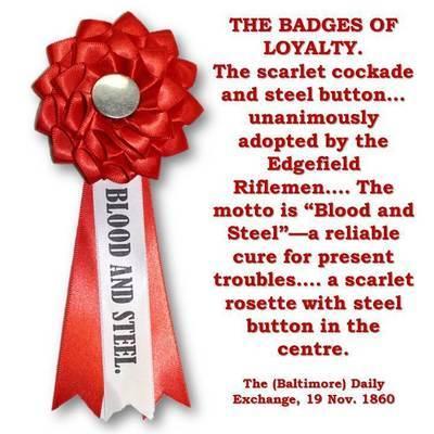 Blood & Steel Secession Cockade