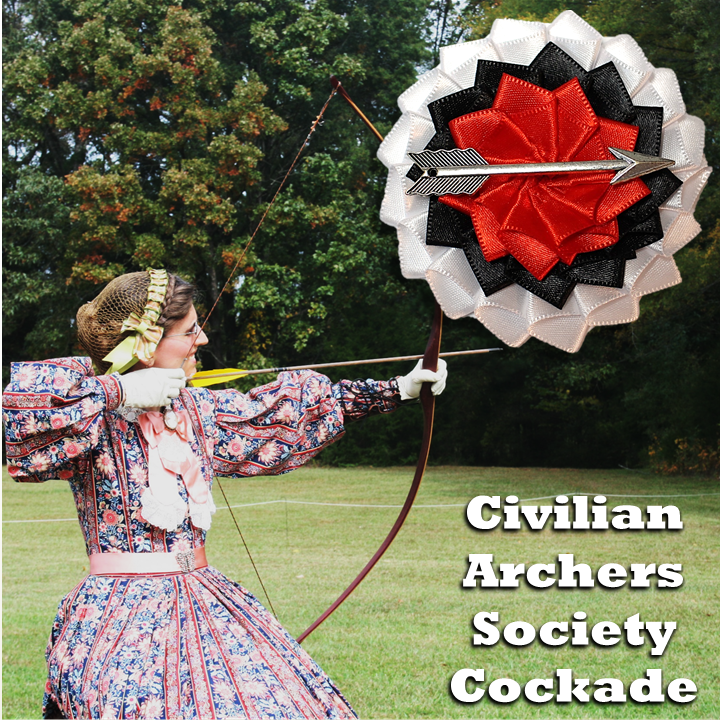 Civilian Archers Society Cockade