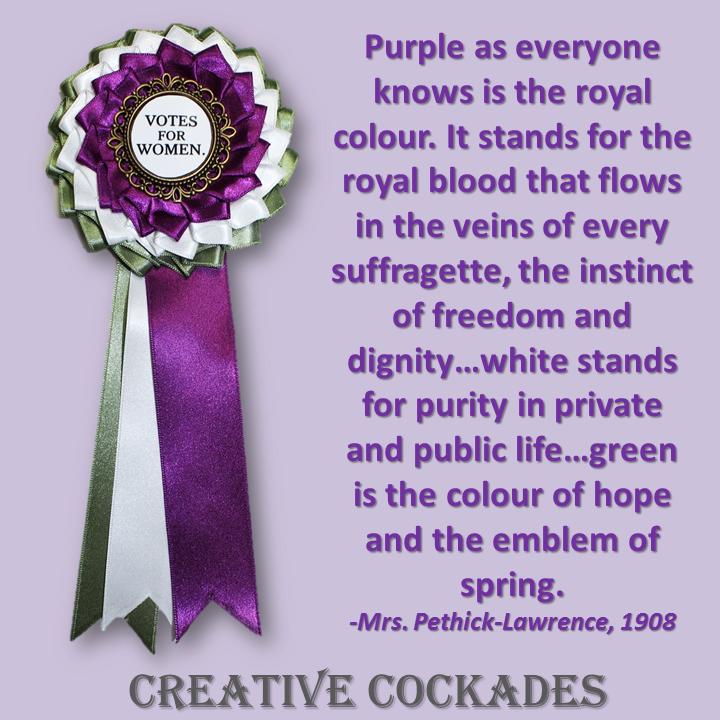 British Suffragette Cockade
