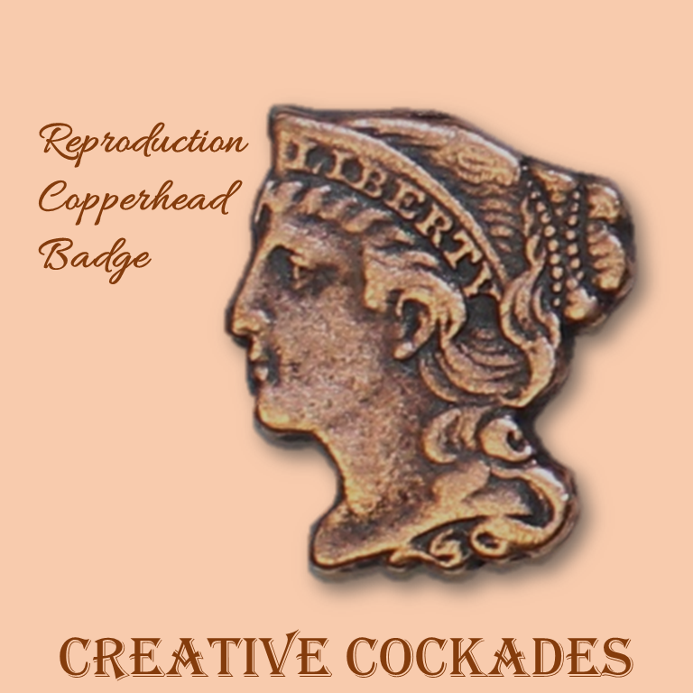 Reproduction Copperhead Badge