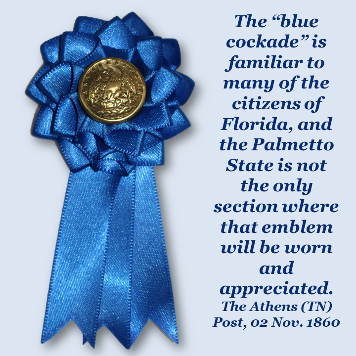 Florida Blue Secession Cockade