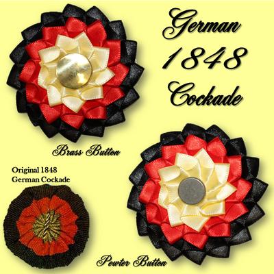 German 1848 Cockade