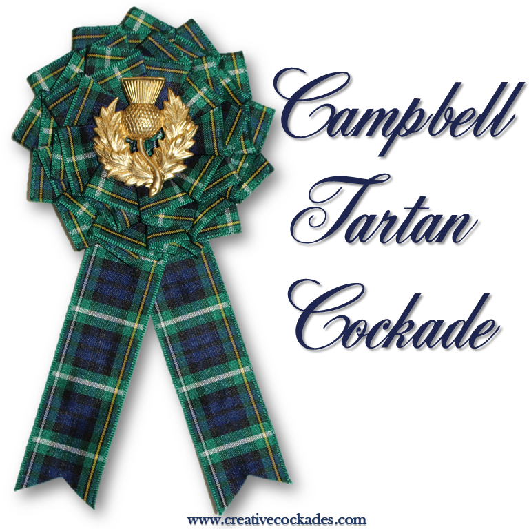 Campbell Tartan Cockade