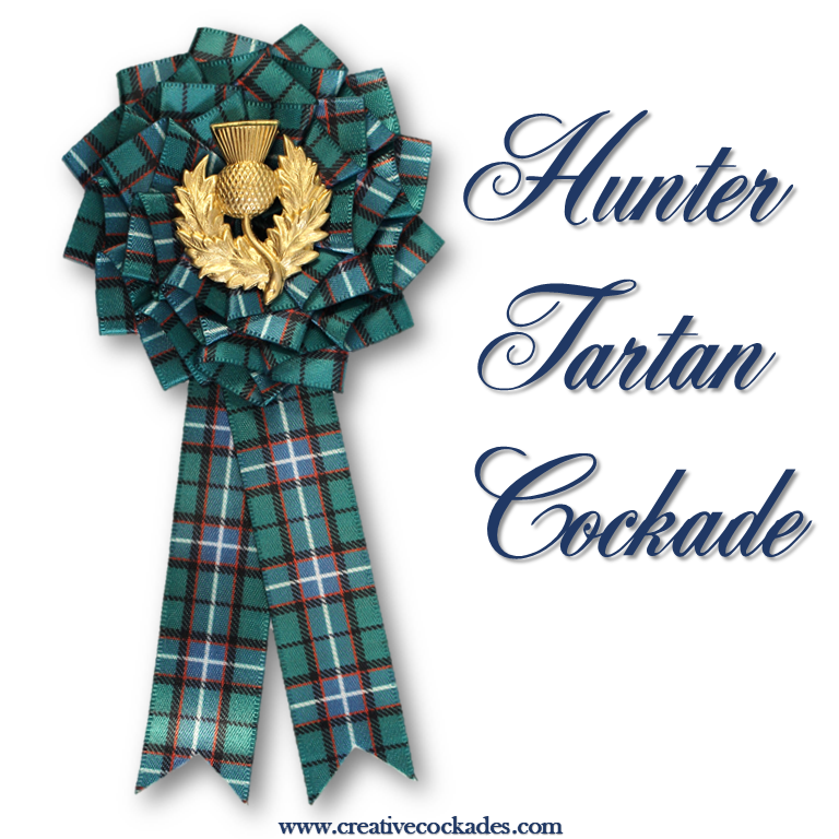 Hunter Tartan Cockade