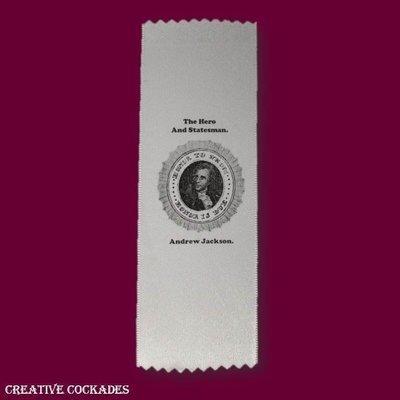 1828 Andrew Jackson Ribbon