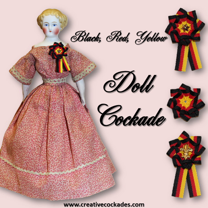 German Doll Cockade
