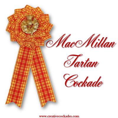 MacMillan Tartan Cockade