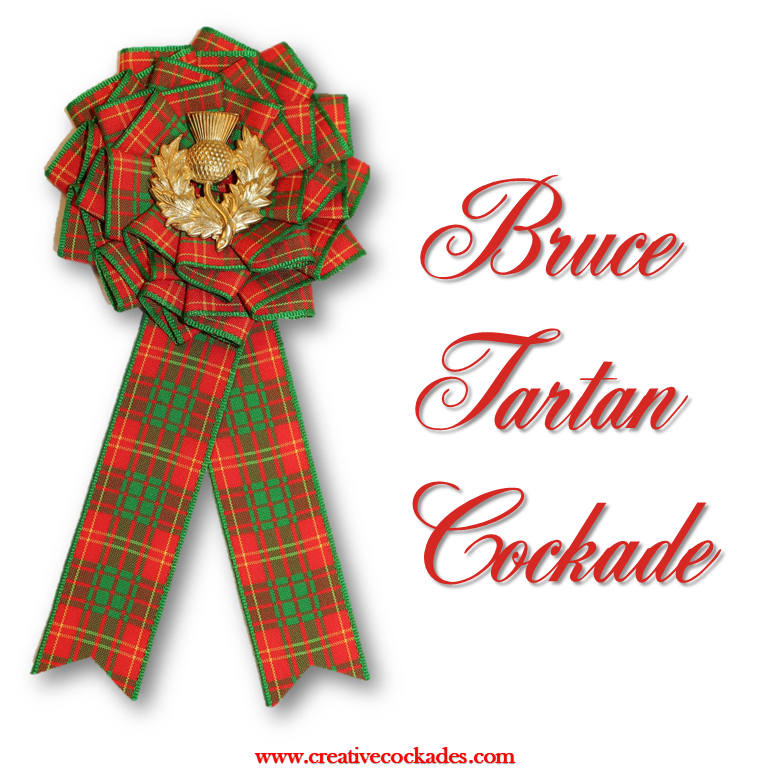 Bruce Tartan Cockade