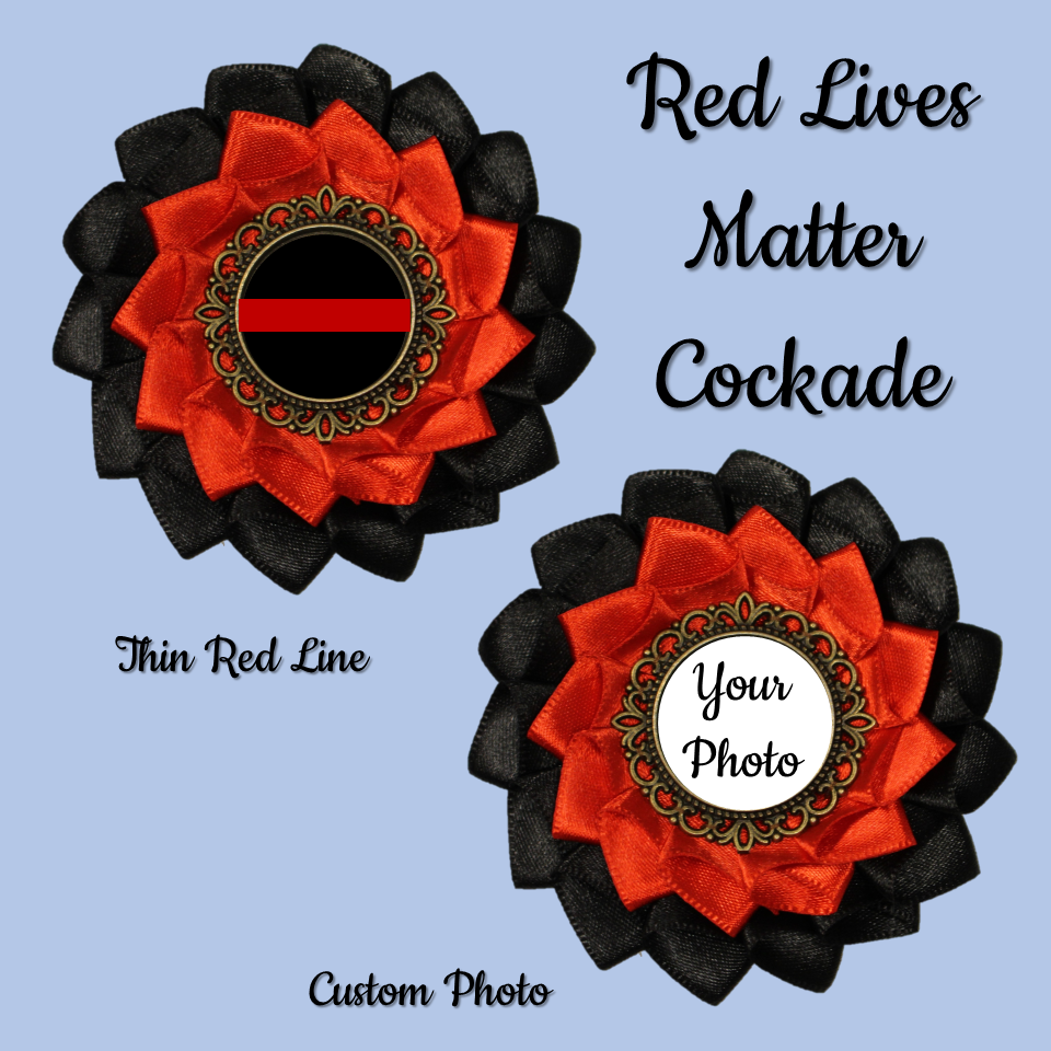 Red Lives Matter Cockade