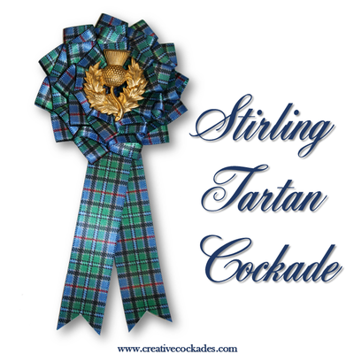 Stirling Tartan Cockade